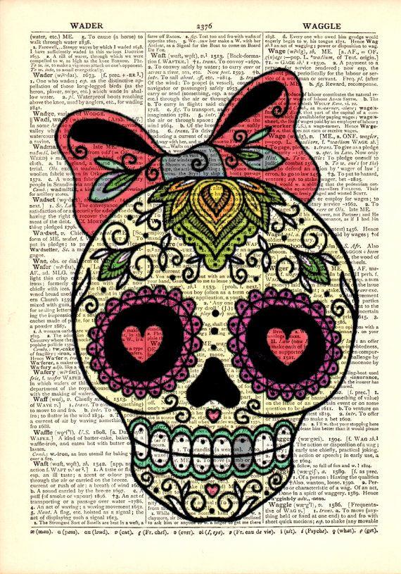 Decoration Dictionary Art Print,Vintage print,Wall decor,Gift Ideas ...