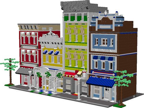 Dream Street Pdf Instructions Pdf Legos And Legos