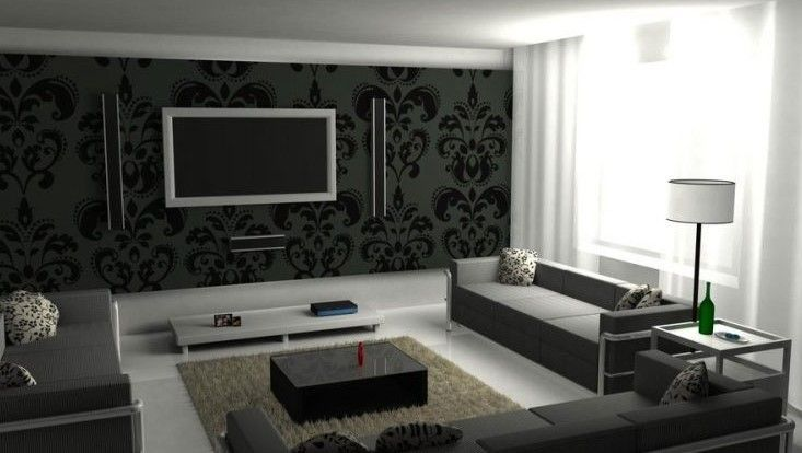 unusual modern tv wall. 14  Chic and Modern TV Wall Mount Ideas for Living Room Unusual antique