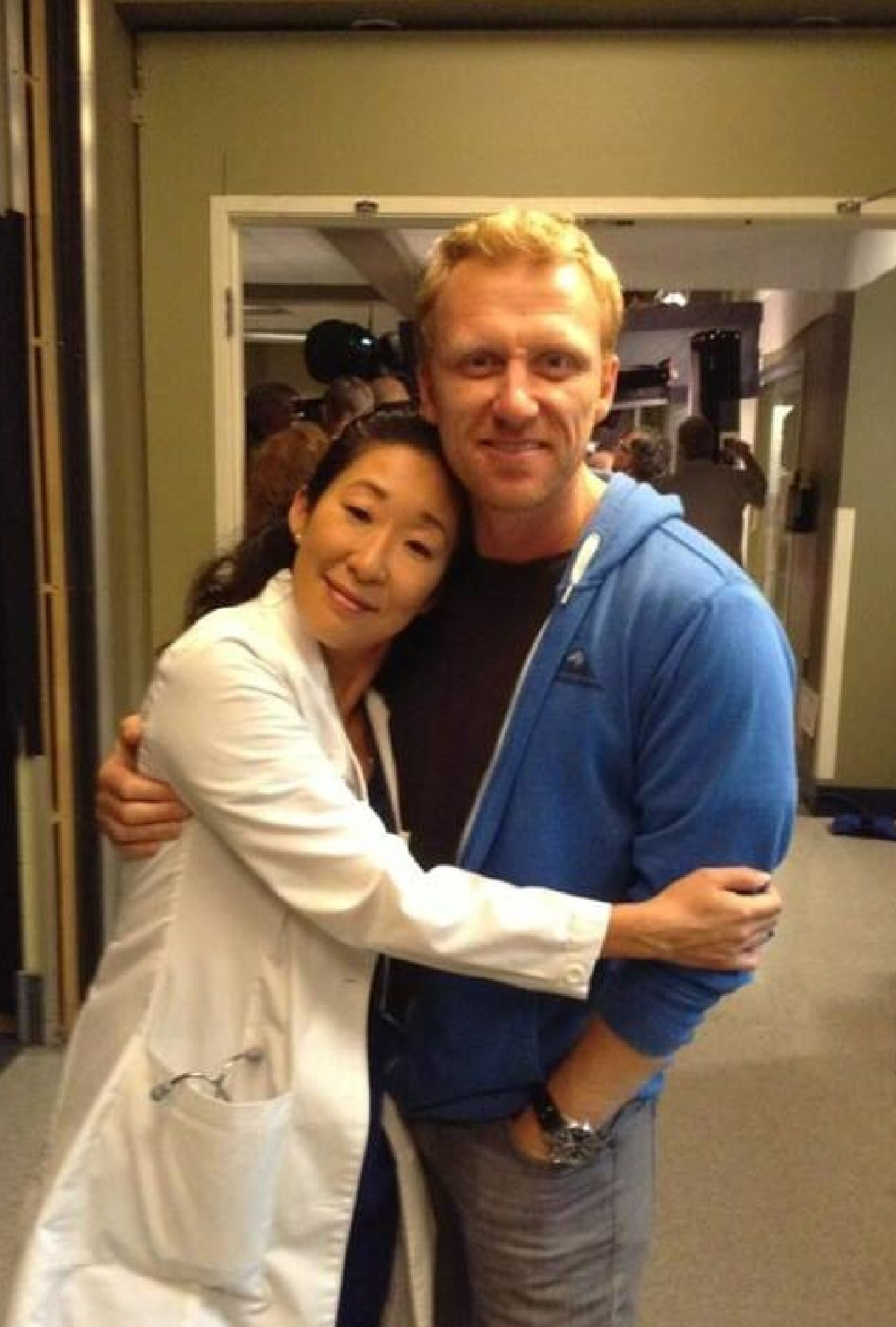 Kevin n Sandra | Kevin McKidd on Set Season 10 | Pinterest