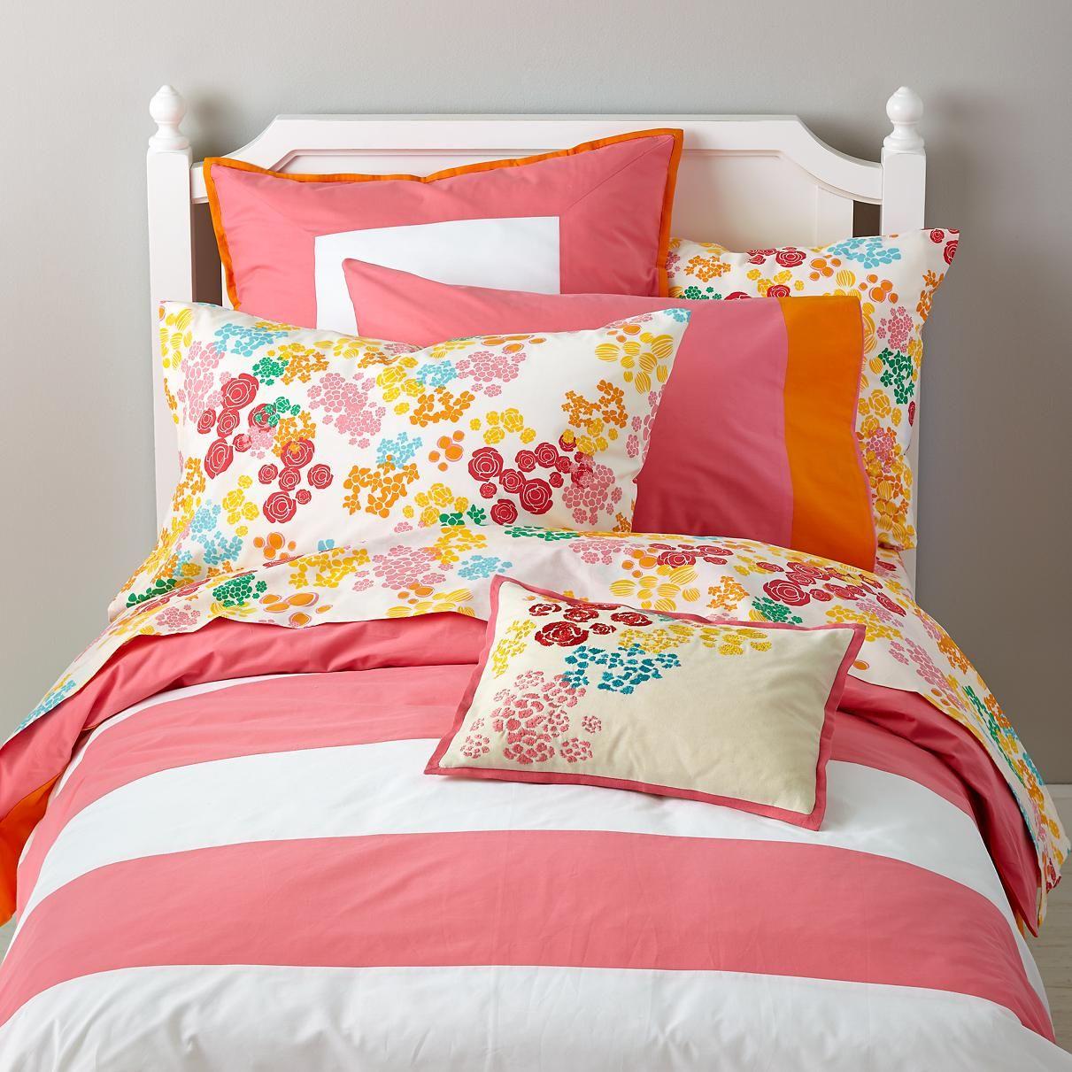 Floral Gem Bedding in Girl Bedding The Land of Nod