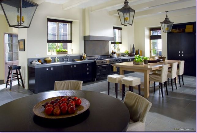 Amanda's open planned kitchen from the film 'The Holiday' - totally see myself cooking in a kitchen designed similar