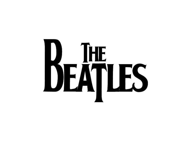 Beatles Logo Beatles Musica Canecas