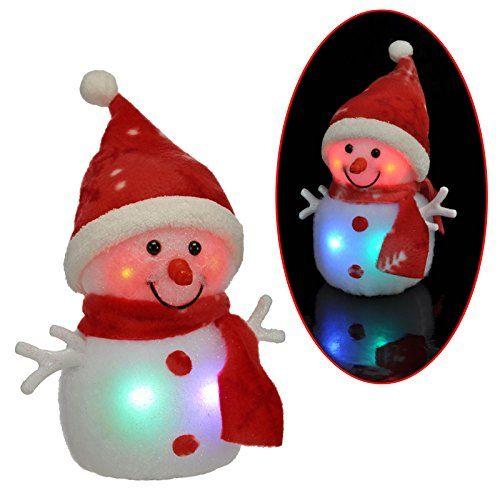 Fensterlicht Weihnachten.Led Leuchtfigur Schneemann Beleuchtet Weihnachtsdekoration