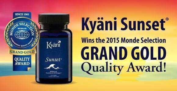 Resultado de imagen de kyani sunset beneficios trocotrienols