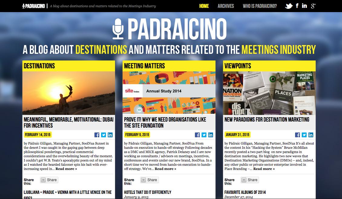 Padraicino - www.padraicino.com
