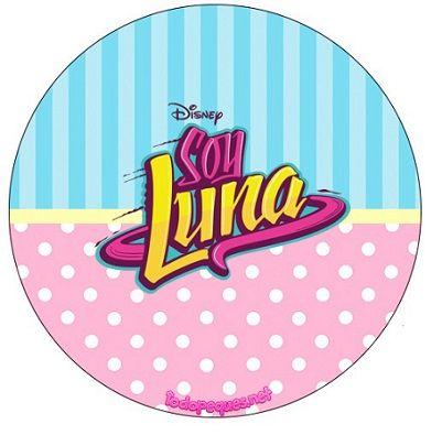 Toppers Soy Luna Stickers Soy Luna Imprimibles Soy Luna Etiquetas De Soy Luna Kits Gratis Soy Luna Jpg 401 395 Stampabili Luna