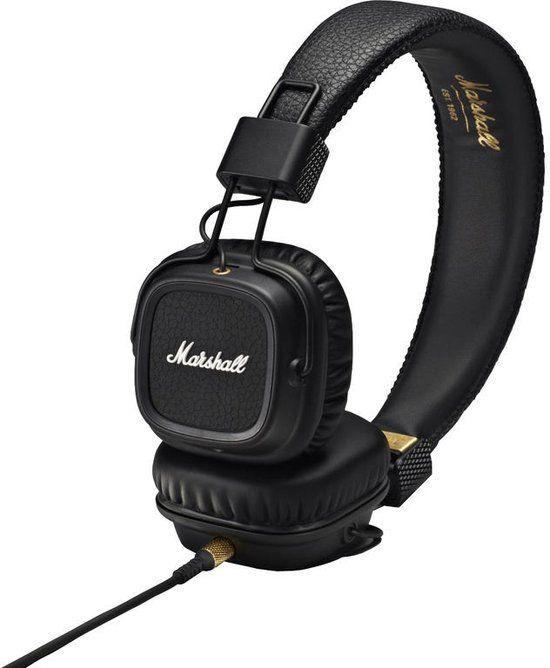 marshall major ii - on-ear koptelefoon - zwart | wishlist