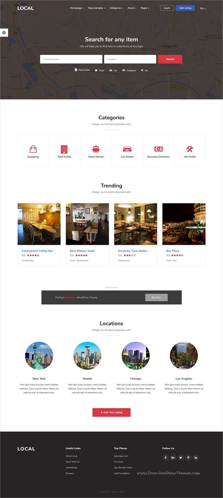 Business Directory Listing   Local