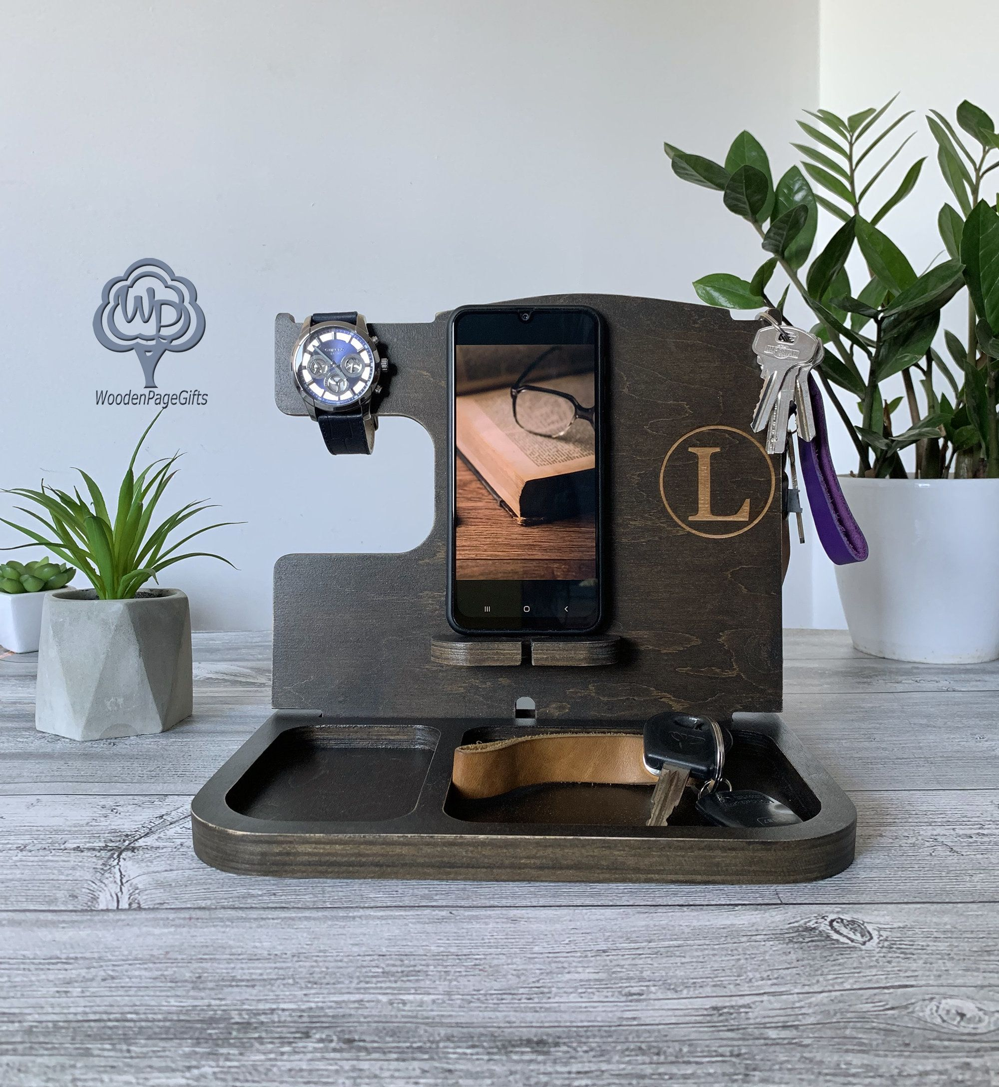 Custom gift for best dad ever docking station personalized