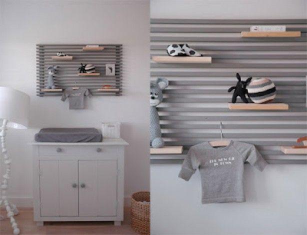 leuk idee en niet alleen voor een baby kamer: boven je bed, in de, Badkamer
