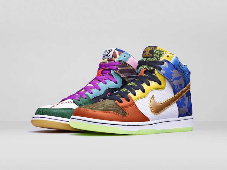 The Nike SB Dunk High What The Doernbecher Auction Begins Tomorrow ... e3dcc6b5bd