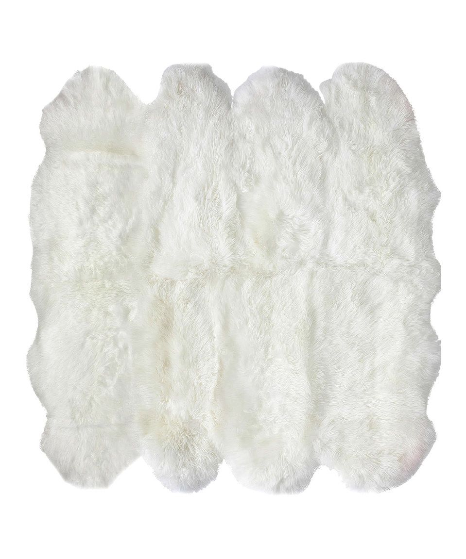 This nuLOOM Octo Handmade Sheepskin Wool Rug by nuLOOM is perfect! #zulilyfinds