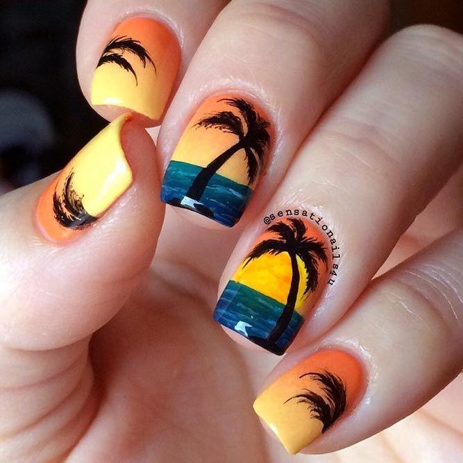 21 Hot Nails Designs For Epic Spring Break Springsummer Nails