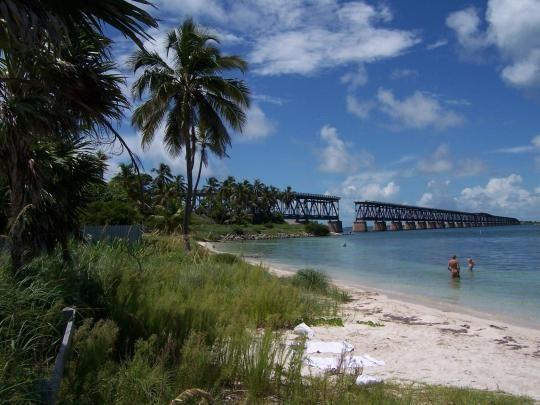 Photo Bahia Honda Sp A White Sandy Beach With Coconut Palms The Old