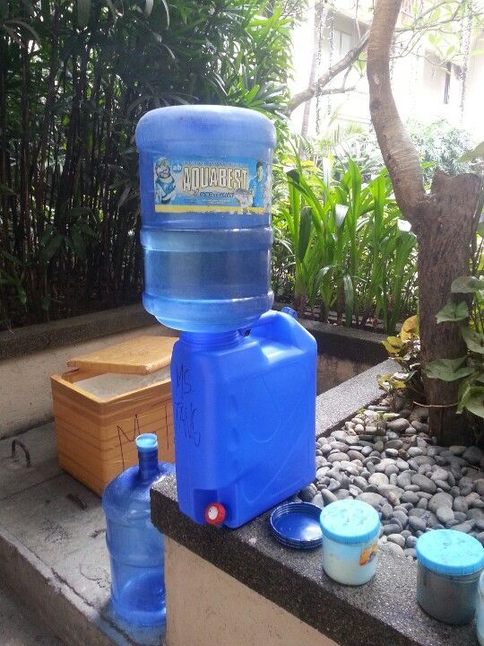 Improvised Water Dispenser Potting Shed Water Dispenser Summer