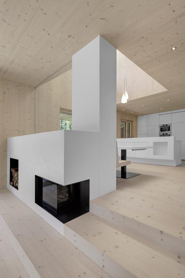 Photo of Maison Escalier di Jacques Moussafir Architectes