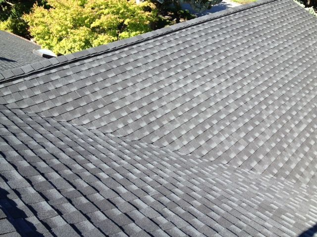 Gaf Timberline Hd Charcoal Lifetime Shingle With Ridgevent Residential Roofing Client In Sunny Novato Ca Residential Roofing Roofing Roof Shingles