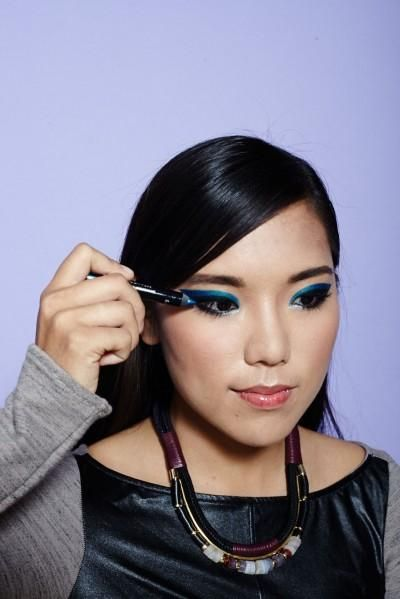 DIY makeup looks for monolid eyes ( Photographed by Winnie Au )