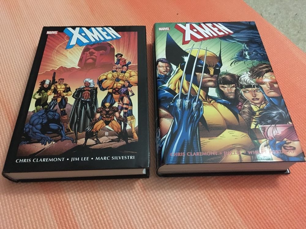 Marvel X Men Vol 1 And 2 Chris Claremont Jim Lee Omnibus Hardcover Marvel Oop Marvel X X Men Claremont