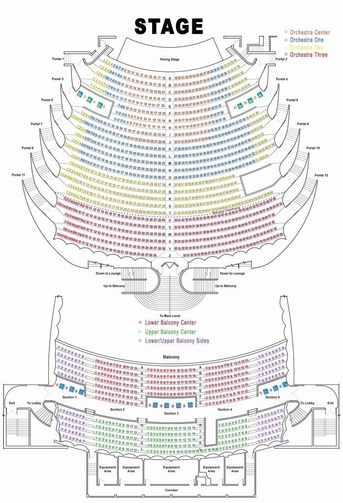 Incredible Along With Lovely Tivoli Seating Chart Di 2020
