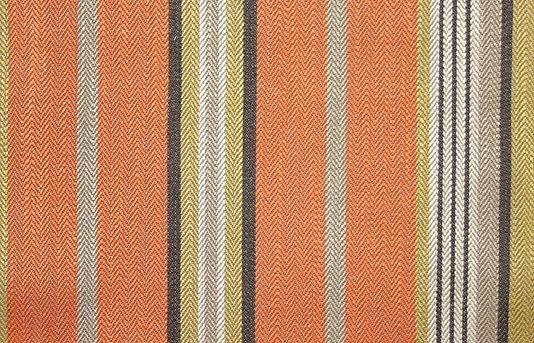 Corinthian Design On Woven Mustard Gold Mid-Weight Cotton Blend