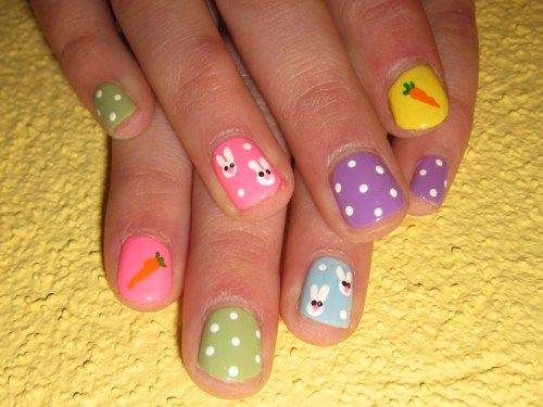 Nail Design For Kids Cheerful Designs Cheerful Nail Designs For