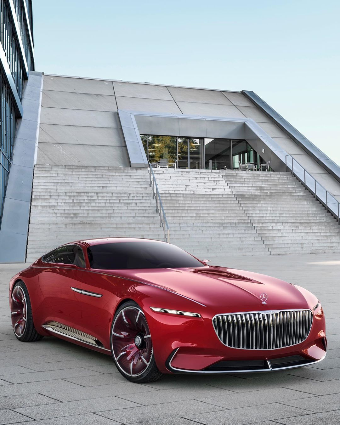 Our Glamorous Coupe The Vision Mercedes Maybach 6 Represents The
