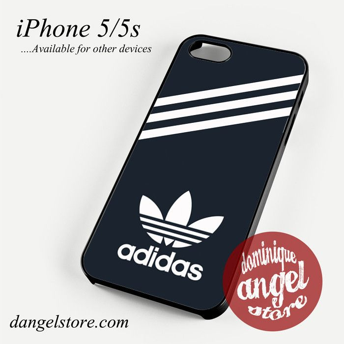 4e4222528a black adidas custom Phone case for iPhone 4 4s 5 5c 5s 6 6 plus ...
