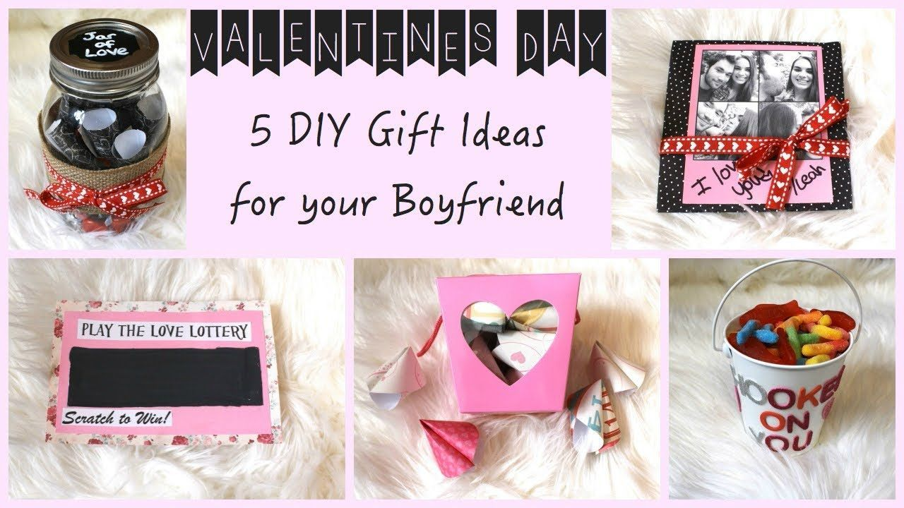 Fun Romantic Diy Valentine S Day Gifts For Him Gift Ideas For Men Here Comes Valentine S Day Or Your Anni Easy Diy Gifts Diy Gifts For Boyfriend Diy Gift