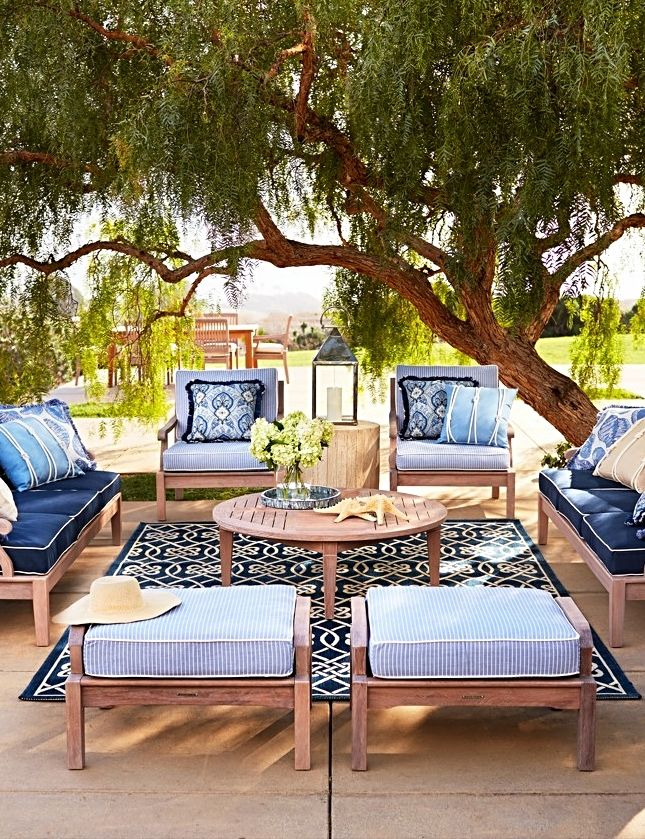 Cassara Seating in Weathered Finish Patio deck designs