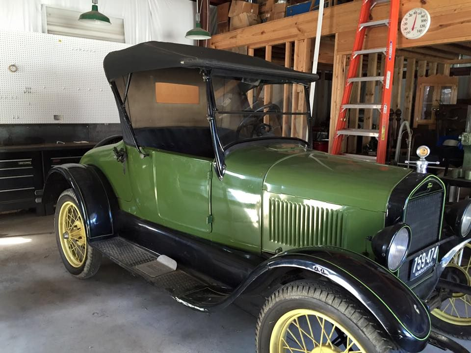 1926 T Ford models