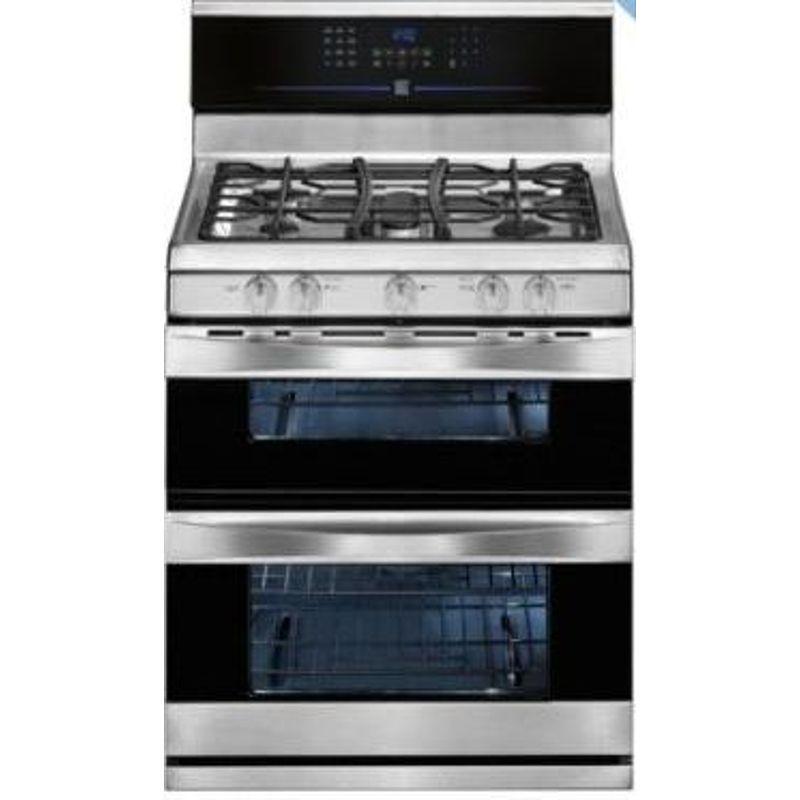 Kenmore Elite 78923 5.8 cu. ft. Double-Oven Gas Range ...