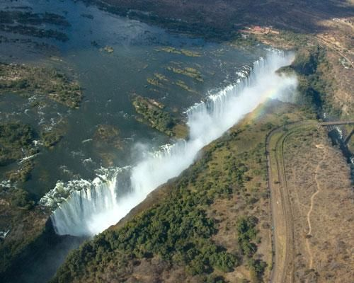 Victoria Falls..... its like world broke open