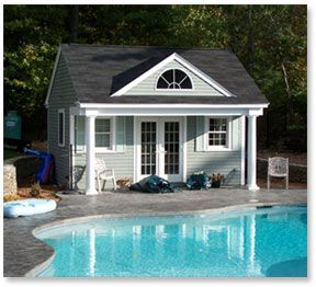 Exceptional Pool House Floor Plans 12x16 | Farmhouse Plans: Pool House Plans