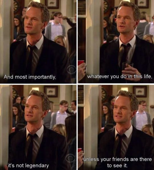 Barney Passing On His Wisdom…