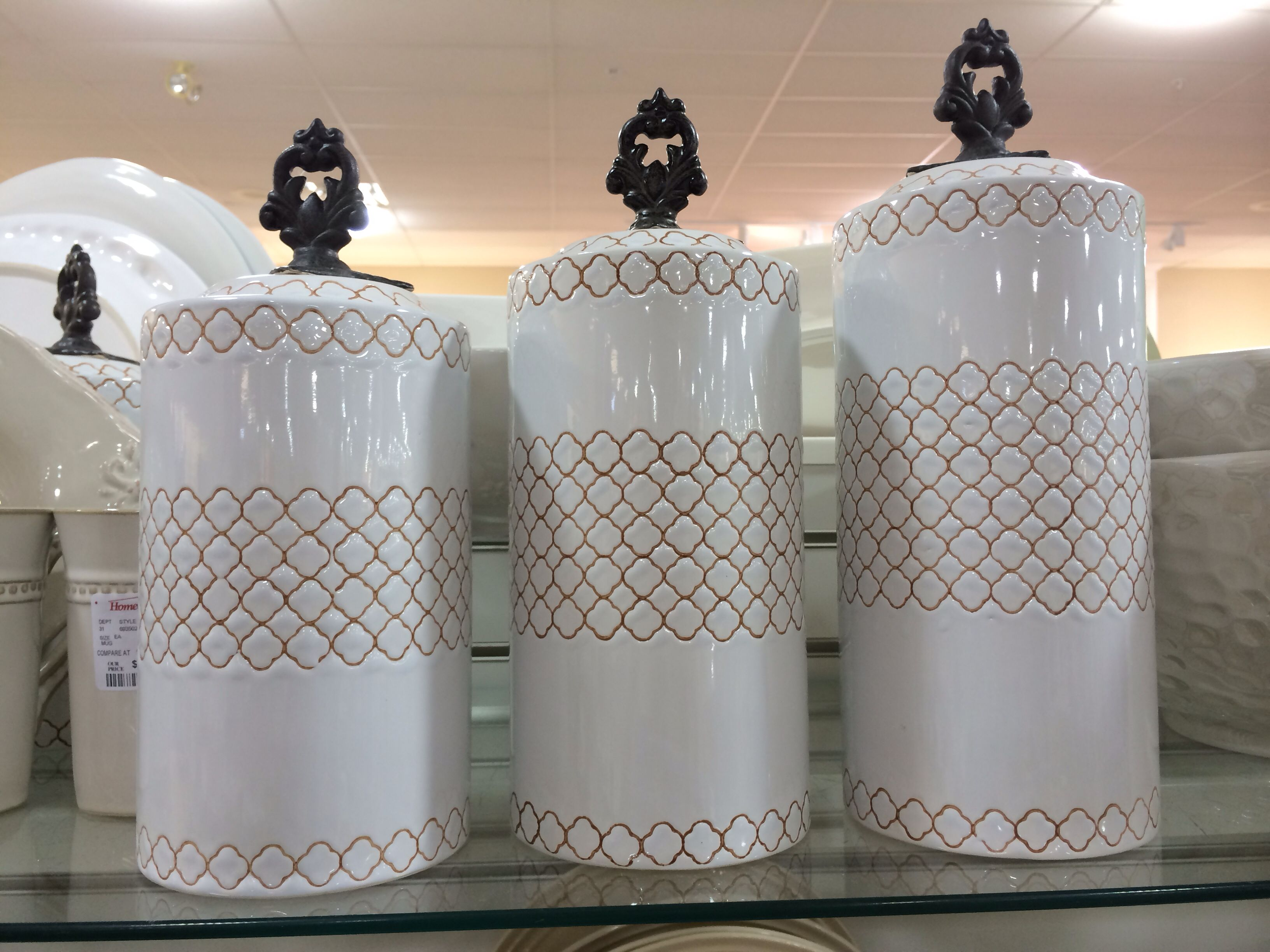 Home Goods Canisters Kitchen Pinterest Future House