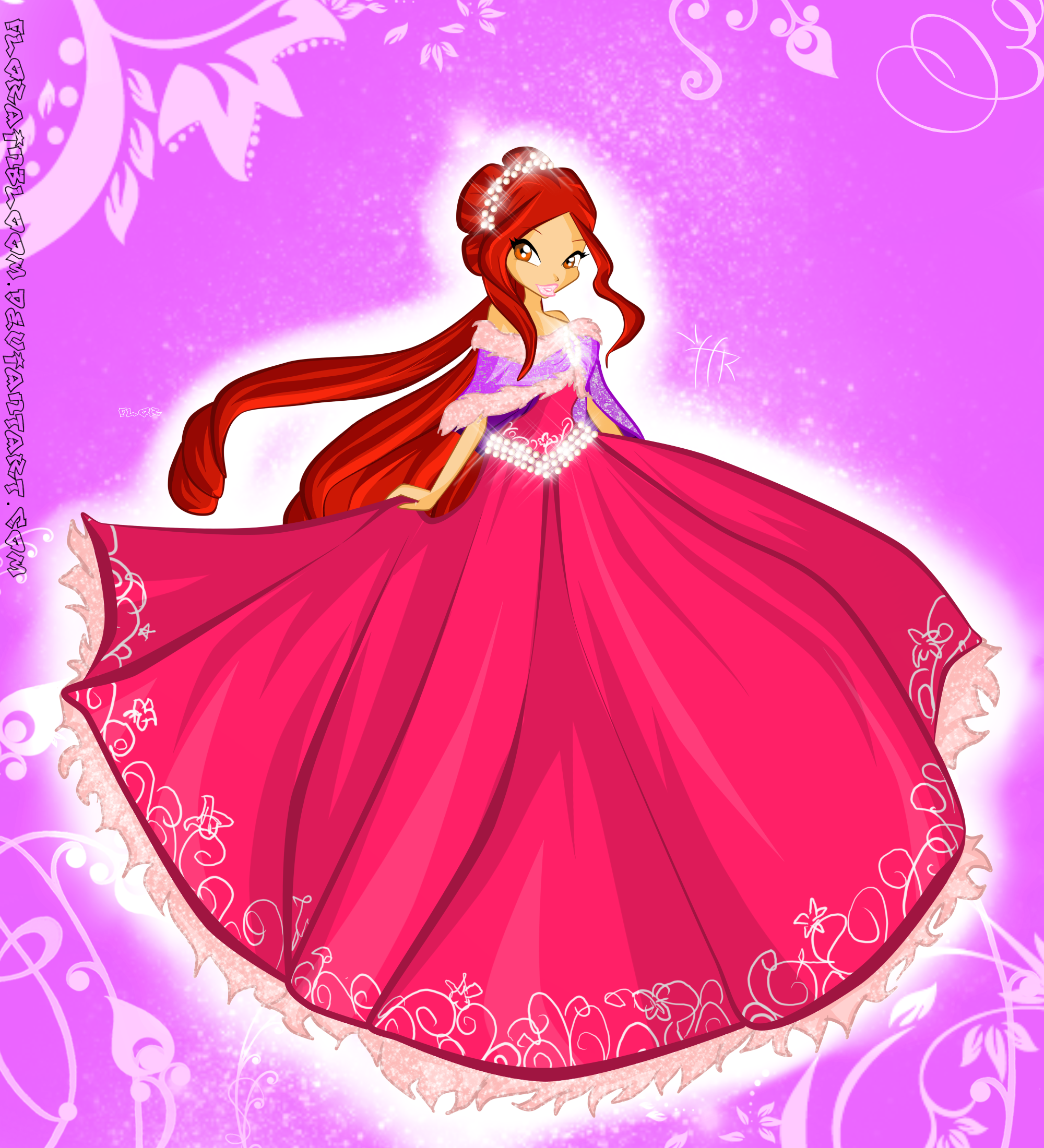 Winter princess naila by winx pinterest winx club winter - Princesse winx ...