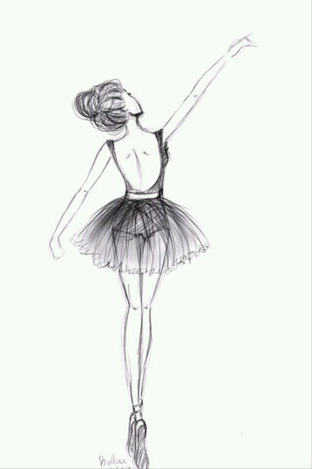 Pin By Stephanie Muhleman On Wallpapers Ballet Drawings Dancing Drawings Ballerina Sketch