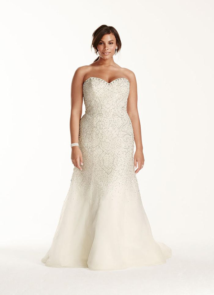Vestidos Para Noivas Plus Size Trompete Renae Pinterest