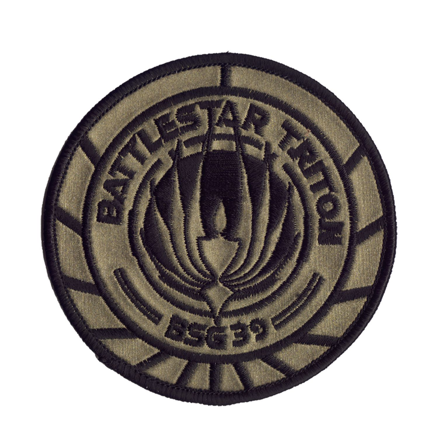 Battlestar Galactica Patch BSG Patch So Say We All Patch Scifi Patch