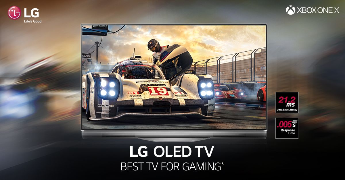 Transport yourself into the world of gaming with #LG #OLEDTV! Live