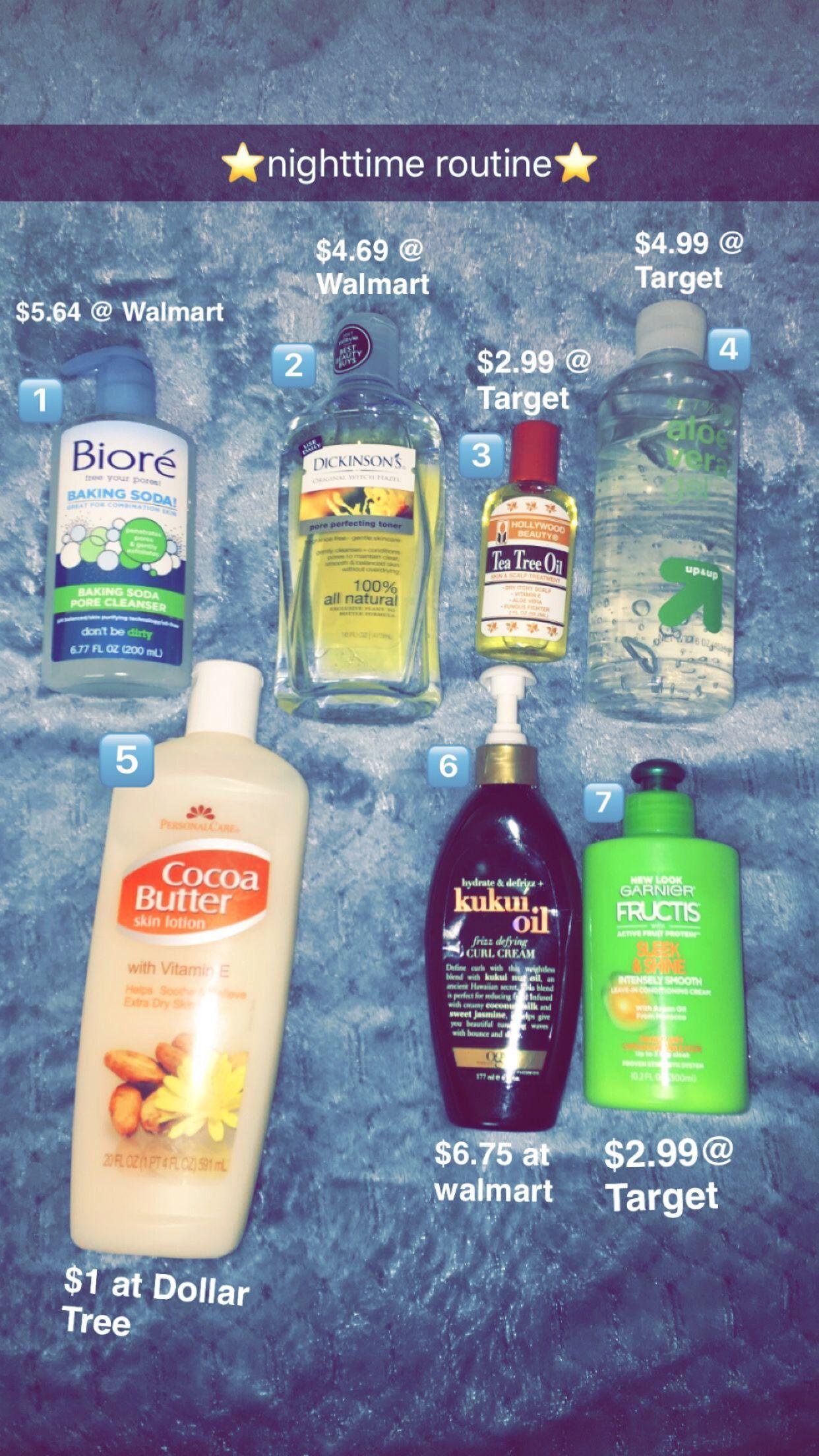 1. Biore baking soda wash - great for oily/combo skin 2
