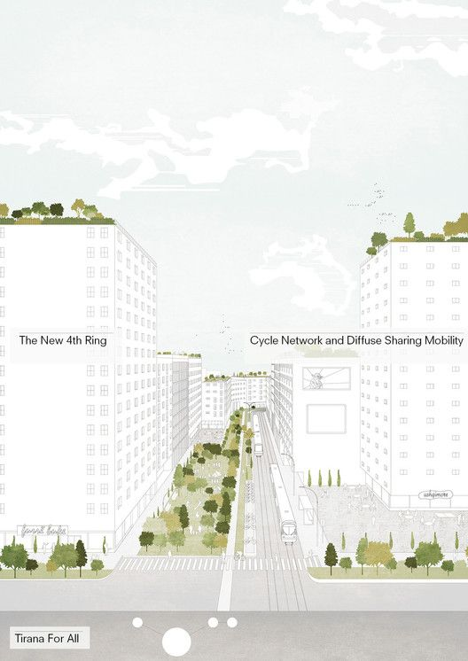 Tirana 2030: Watch How Nature and Urbanism Will Co-Exist in the Albanian Capital