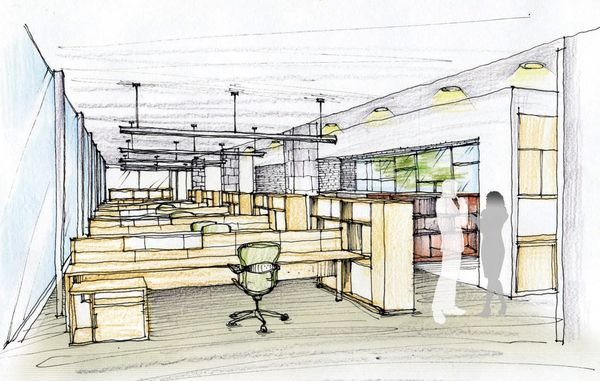 IDEO OFFICE DESIGN by Yusheng Kong, via Behance With ...