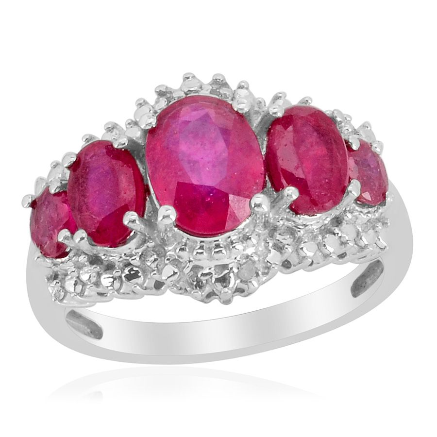Liquidation Channel: Niassa Ruby Fissure Filled and Diamond Ring in ...