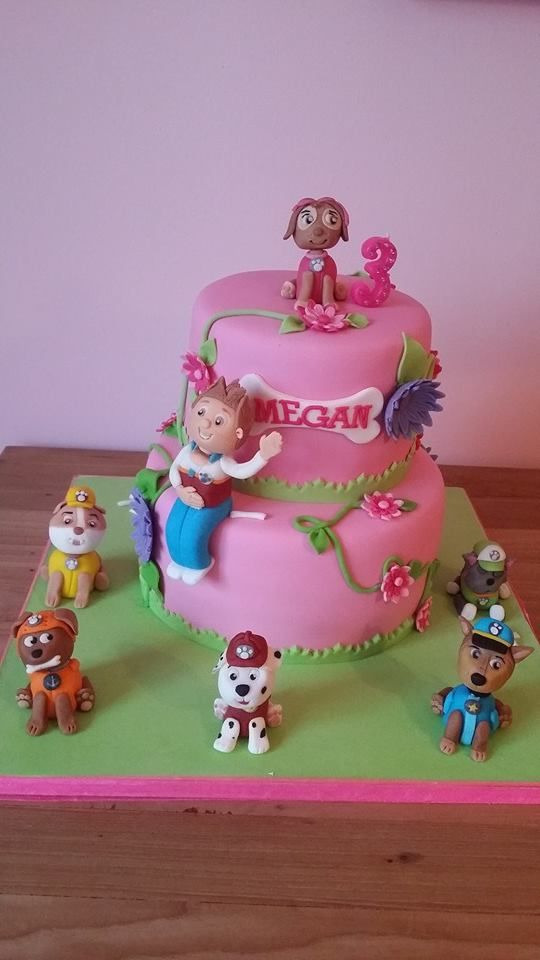 paw control cake made by Diana karlicic. folow her on facebook https://www.facebook.com/pages/Vier-het-met-taart/242078829262870?ref=hl