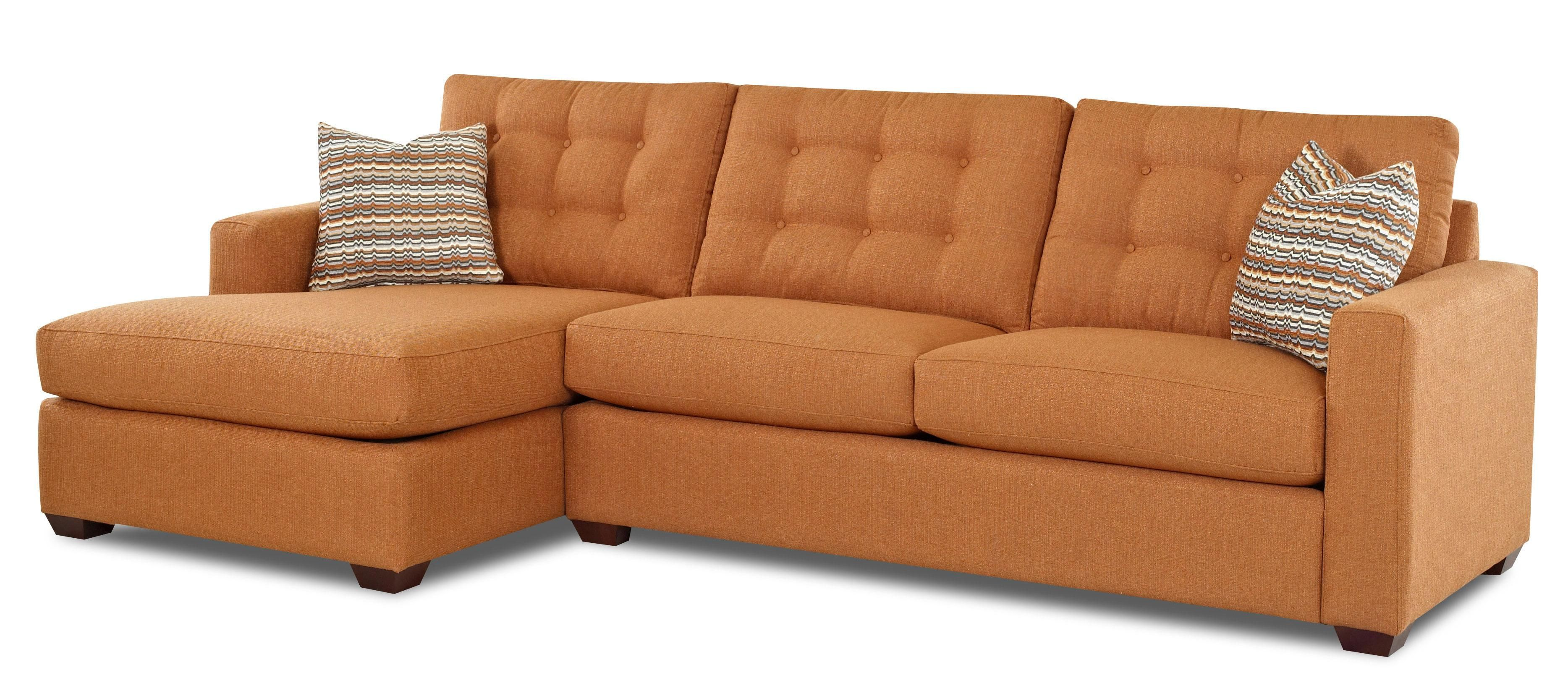 Lido Casual Sectional Sofa with Chaise Lounge by Klaussner - Wolf ...