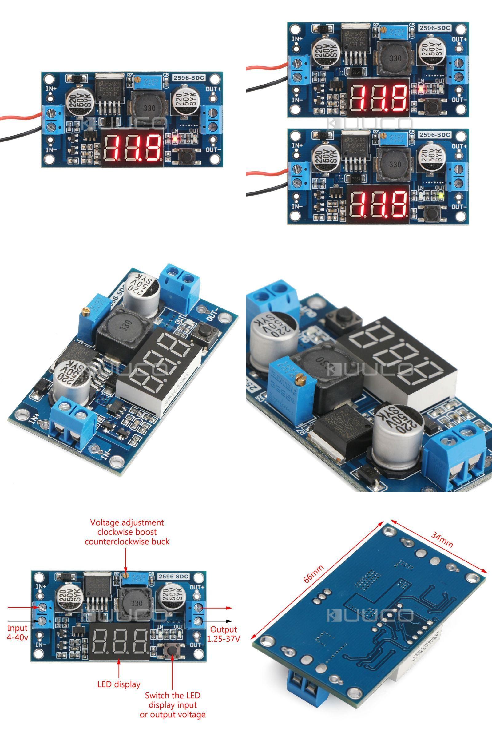Visit To Buy Lm2596 Dc 12v Adjus Electrical Equipment Supplies Regulated 12 Volt Supply Adjustable Voltage Power Converter 24v