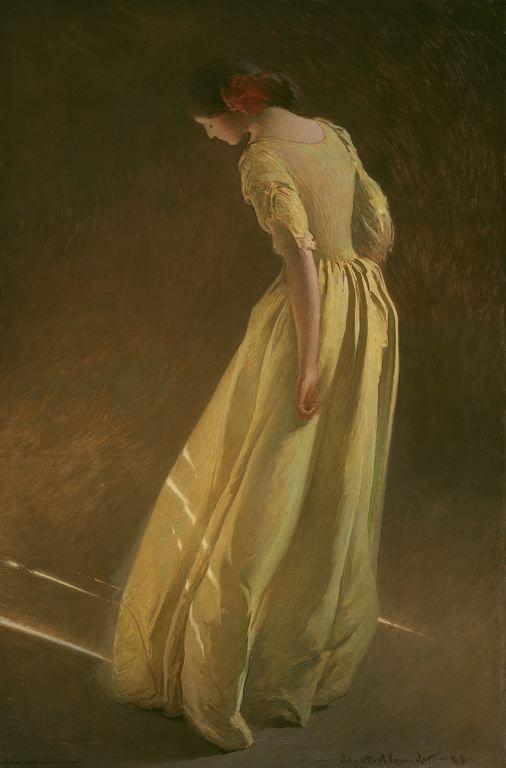 John White Alexander, Sunlight, 1909.